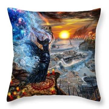 This Will All Come To An End Throw Pillow