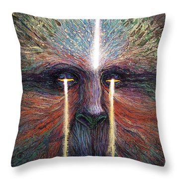 This World Weeps For A Spiritual Awakening Throw Pillow