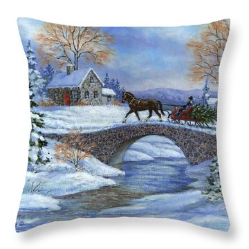 This Years Tree Throw Pillow