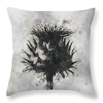Thistle Throw Pillow