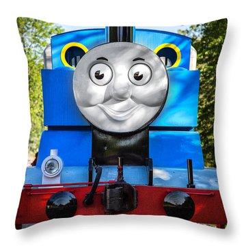 Thomas The Train Throw Pillow