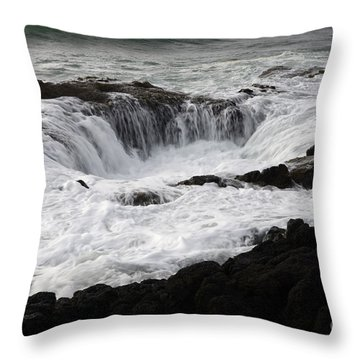 Thors Well Oregon Throw Pillow by Bob Christopher