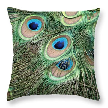 Those Danger Eyes Throw Pillow