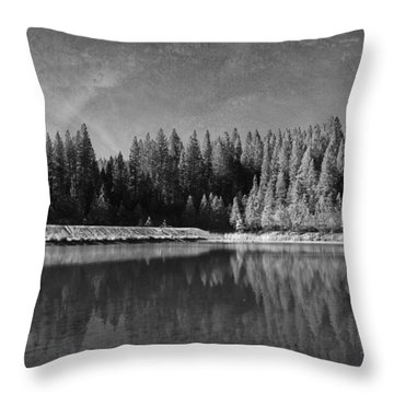 Those Days Are Gone Throw Pillow by Laurie Search