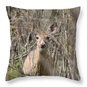 Those Eyes Throw Pillow