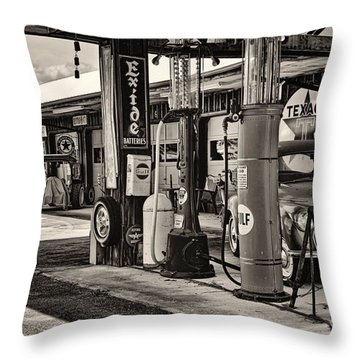 Those Were The Days Throw Pillow by Heather Applegate