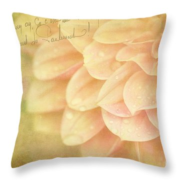 Those Were The Days Throw Pillow