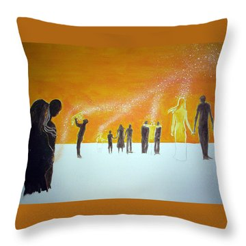 Those Who Left Early Throw Pillow