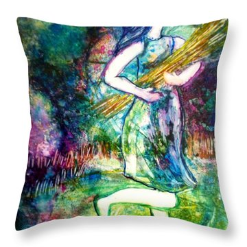 Those Who Sow In Tears Shall Reap In Joy Throw Pillow