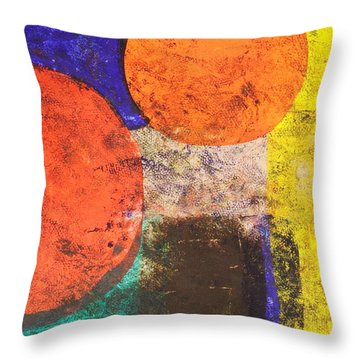 Thought Enhancements Throw Pillow