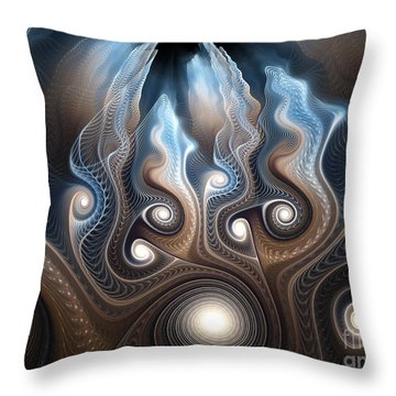 Thought Forms Throw Pillow