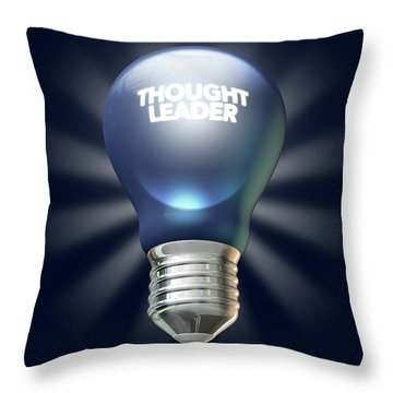 Thought Leader Throw Pillow