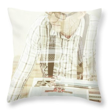 Storytellers Throw Pillows