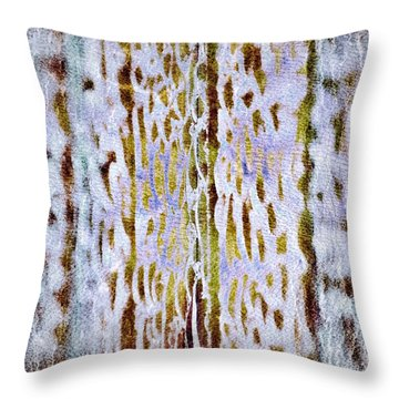 Throw Pillow featuring the digital art Thoughts Of Afar by Darla Wood