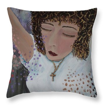Thoughts Of Praise Throw Pillow