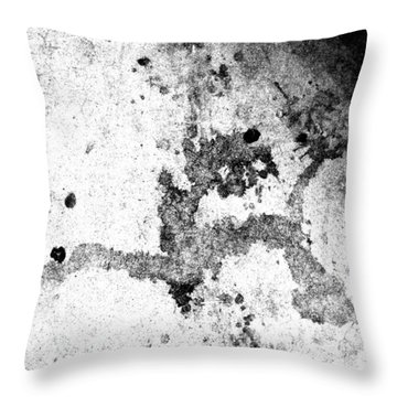 Thrashed - But Not Without The Head Of The Devil Throw Pillow