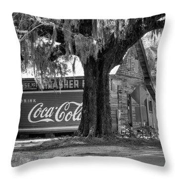 Thrasher Warehouse No. 1 Throw Pillow by Lynn Palmer