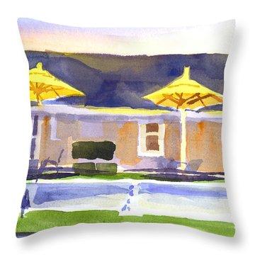 Three Amigos IIi Throw Pillow by Kip DeVore