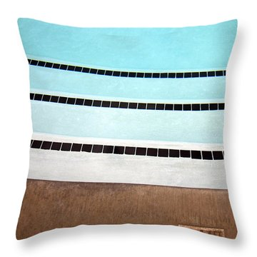 Three And A Half Palm Springs Throw Pillow