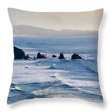 Three Arches Throw Pillow