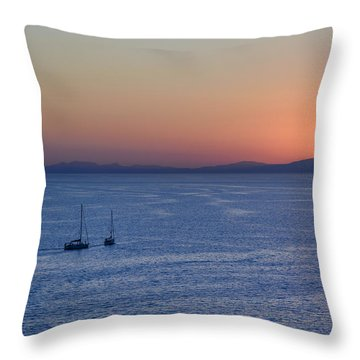 Throw Pillow featuring the photograph Three Dreams by Steven Sparks