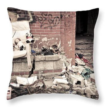 Throw Pillow featuring the photograph Three Friends by Priya Ghose