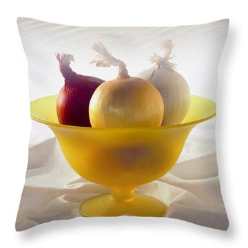 Three Northern Tourists Throw Pillow
