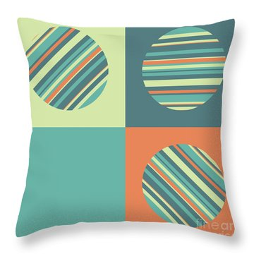 Three Or Four Throw Pillow