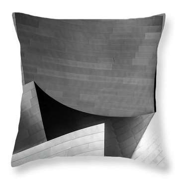 Three Points Throw Pillow