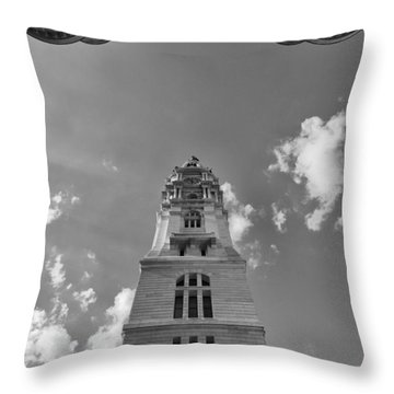 Three Points Of Justice Throw Pillow