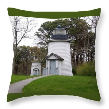 Three Sisters Light Throw Pillow by Catherine Gagne