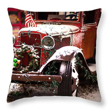 Three Wise Men Throw Pillow by Randall  Cogle