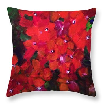 Thriving To Be Noticed Throw Pillow