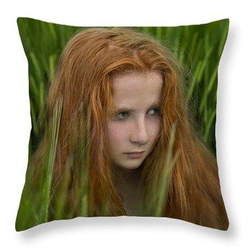 Through The Fear Throw Pillow