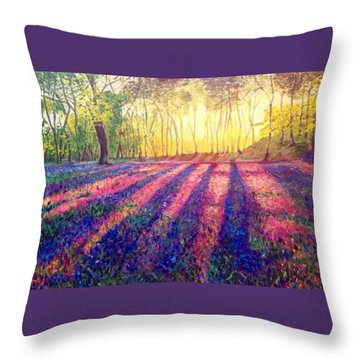 Through The Light Throw Pillow