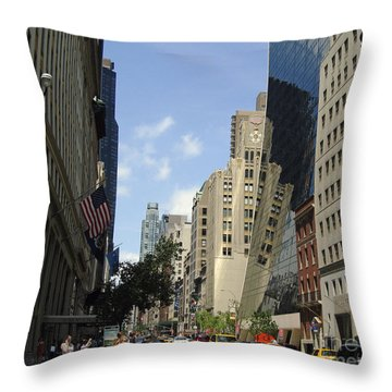 Throw Pillow featuring the photograph Through The Looking Glass by Meghan at FireBonnet Art