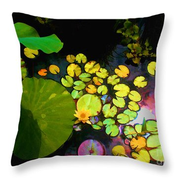 Through The Looking Glass Bristol Rhode Island Throw Pillow