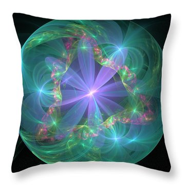 Through The Veil Throw Pillow