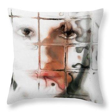Through The Window Throw Pillow