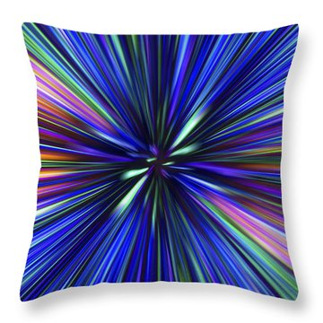 Through The Wormhole.. Throw Pillow