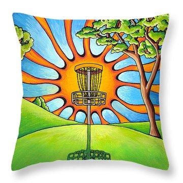 Throw Into The Light Throw Pillow