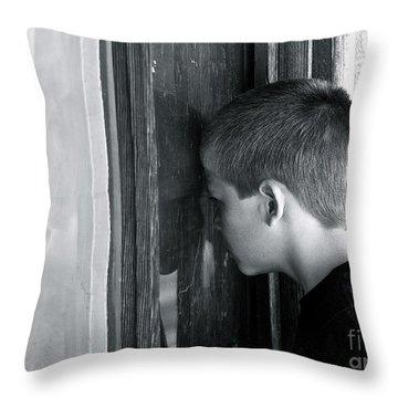 Thru A Child's Eyes Throw Pillow