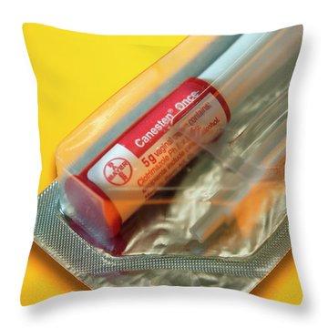 Pharmacology Throw Pillows