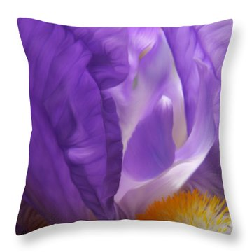 Thumbelina Dreaming Throw Pillow