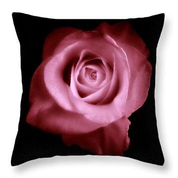 Thumbelina  Throw Pillow by Micki Findlay