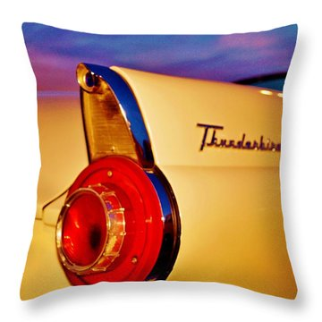 Thunderbird Throw Pillow by Daniel Thompson