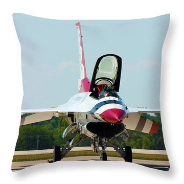 Thunderbird No1 Throw Pillow