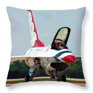 Thunderbird No2 Throw Pillow