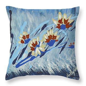Thunderflowers Throw Pillow