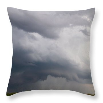Thunderstorm Squall Throw Pillow